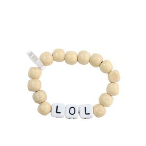 Bracelet Love Beads Bois LOL