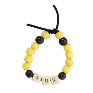 Bracelet Love Beads Bois SUN