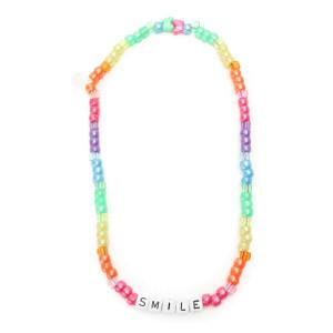 Collier Love Beads SMILE Multicolore