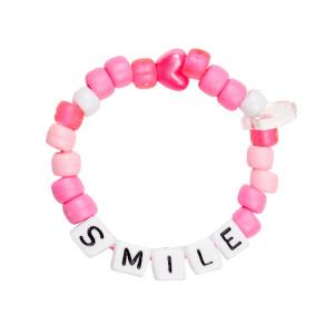Bracelet Love Beads SMILE Rose
