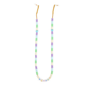 Chaîne de Lunettes Perles Love Beads MOTHER Vert