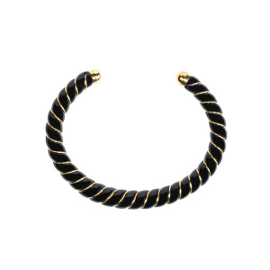 Bracelet New Diana Noir, Exclusivité Lulli