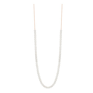 Collier Maria Mini Boulier Or Rose Perle