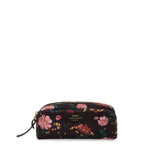 Trousse Small Beauty Black Flowers