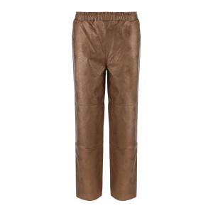 Pantalon Cuir Vegan Cuivré