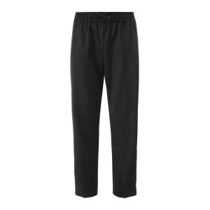 Pantalon Ceinture Élastiquée Noir