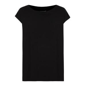 Tee-shirt Col Bateau Noir