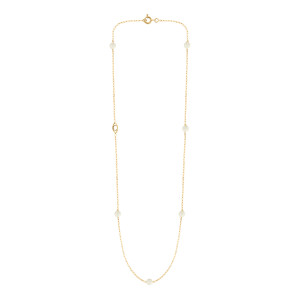 Collier Massilia Nacre Or Jaune