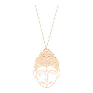 Collier Jumbo Buddha - GINETTE_NY