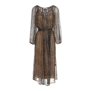 Robe Raissa Marron
