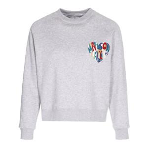Sweatshirt MaisonLabicheLovesYou Gris Multicolore