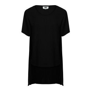 Tee-shirt Long Noir