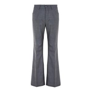 Pantalon Laine Gris