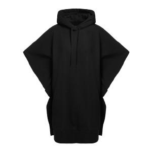 Robe Sweatshirt Coton Noir