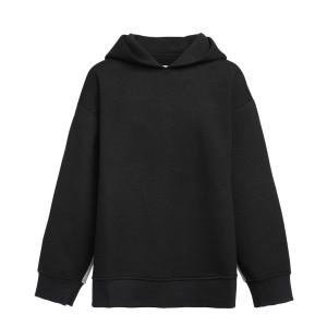 Sweatshirt Oversize Bicolore Noir Gris