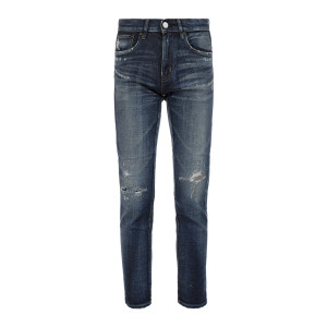 Jean Lancaster Skinny Coton Bleu
