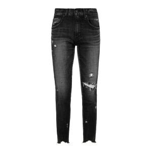Jean Glendele Skinny Coton Noir