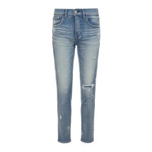 Jean Lenwood Skinny Coton Bleu