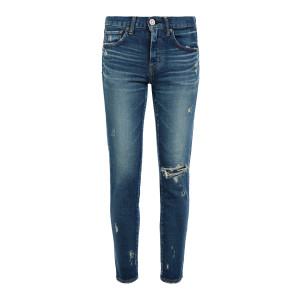 Jean Lenwood Skinny Denim Bleu
