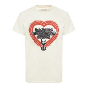 Tee-shirt Trucker Freedom Coton Naturel