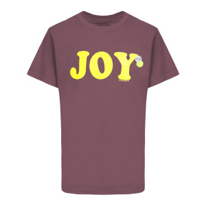 Tee-shirt Trucker Joy Coton Cerise