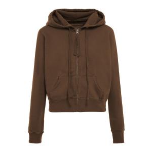 Sweatshirt Zippé Callie Marron