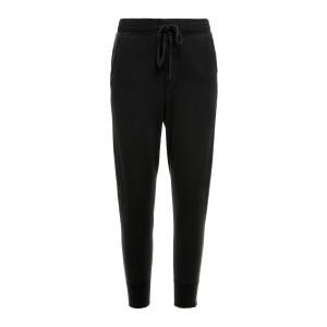 Pantalon Nolan Coton Noir Délavé