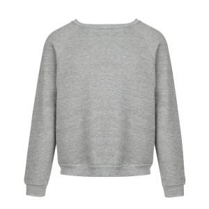 Sweatshirt Classic Crew Gris Chiné