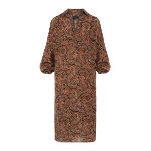 Robe Kesia Soie Imprimé Paisley