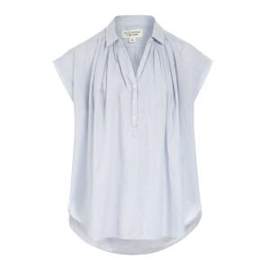 Blouse Normandy Coton Bleu Clair