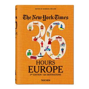 Livre NYT 36 Hours Europe, 3ème édition, 130 destinations