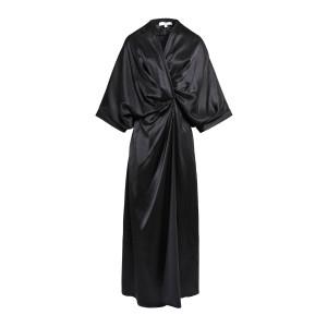 Robe Anna Soie Noir