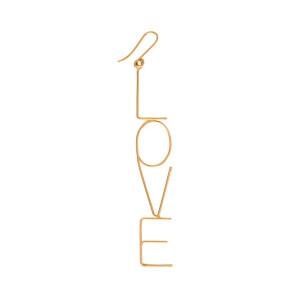 Boucle d'oreille Maxi Love Or (vendue à l'unité)