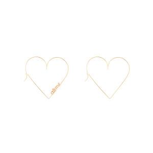 Créoles Mini Cœur Aime Gold Filled