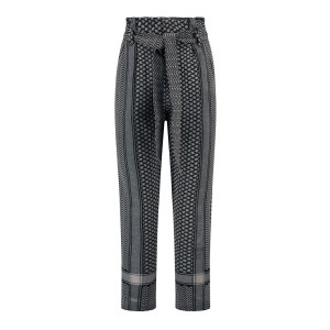 Pantalon Storm Coton Gris Noir