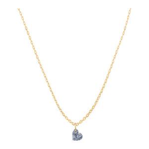 Collier 360° Cœur Diamant 0,15 Or Jaune