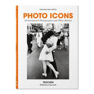 Livre Photo Icons, 50 Photographies Emblématiques