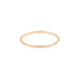 Bague Circles Or Rose