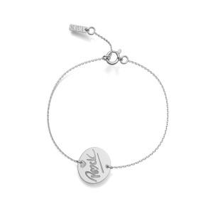 Bracelet Rock S Or Blanc
