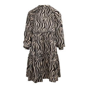 Robe Hannah Noir Beige