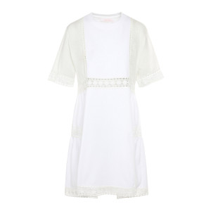 Robe Dentelle Blanc