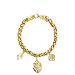 Bracelet Palo Charms Plaqué Or