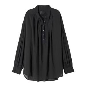 Blouse Miles Coton Noir