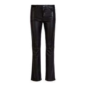 Pantalon Dean  Agneau Plongé Regular Noir