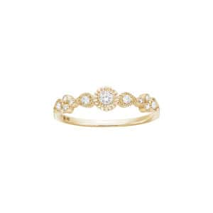 Bague Simple Swan Diamants - STONE