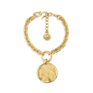 Bracelet Talisman Or Jaune