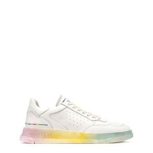 Baskets Tweener Low Rainbow Cuir Blanc