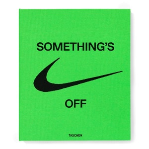 Livre ICONS Something's OFF, Virgil Abloh x Nike