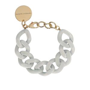 Bracelet Flat Gris Clair