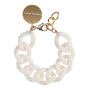 Bracelet Flat Blanc